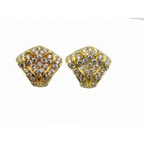 Gold Diamond Earings